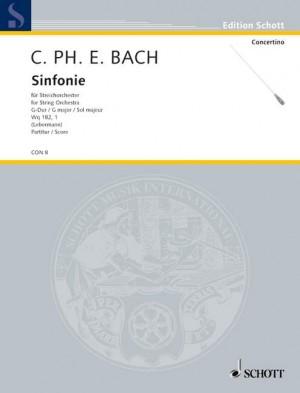 Bach, C P E: Symphony G major Wq 182/1