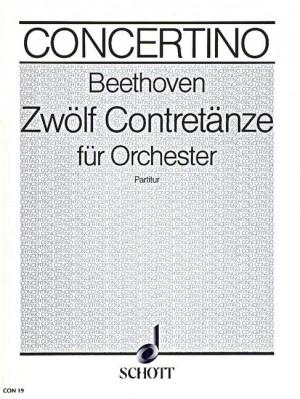 Beethoven, L v: 12 Contra dance WoO 14