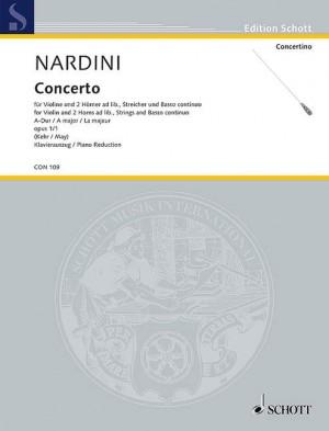 Nardini, P: Concerto A Major op. 1/1