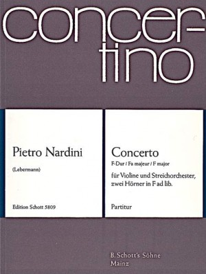 Nardini, P: Concerto F Major op. 1/3