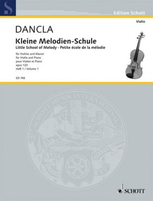 Dancla, C: Little School of Melody op. 123 Band 1