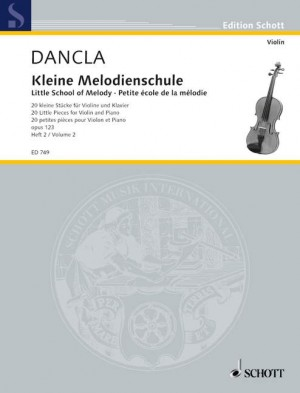 Dancla, C: Little School of Melody op. 123 Band 2