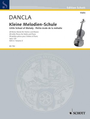 Dancla, C: Little School of Melody op. 123 Band 3