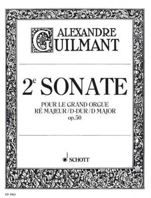 Guilmant, F A: 2. Sonata D Major op. 50/2