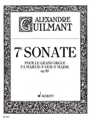 Guilmant, F A: 7. Sonata F Major op. 89/7