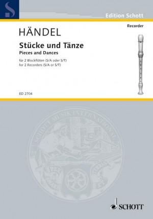 Handel, G F: Piece and Dance