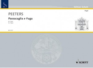 Peeters, F: Passacaglia and Fugue op. 42