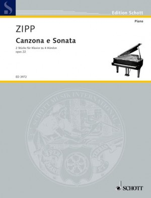 Zipp, F: Canzona and Sonata op. 22