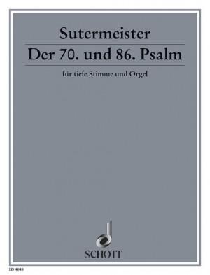 Sutermeister, H: Der 70. und 86. Psalm