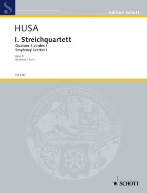 Husa, K: 1.  String Quartet Op. 8