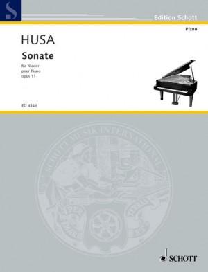 Husa, K: Sonata op. 11