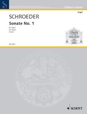 Schroeder, H: Sonata No. 1