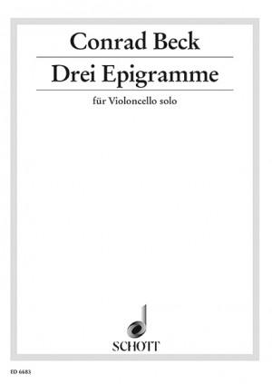 Beck, C: Three Epigramme