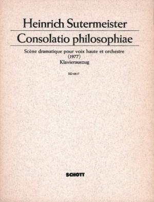 Sutermeister, H: Consolatio philosophiae