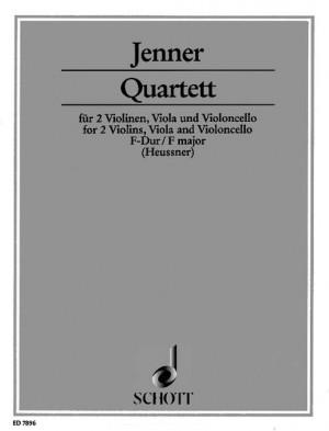 Jenner, C U G: Quartet F Major