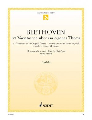 Beethoven, L v: 32 Variations on an Original Theme C minor WoO 80