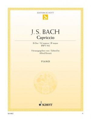 Bach, J S: Capriccio B-flat major BWV 992