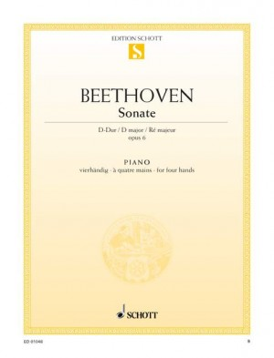 Beethoven, L v: Sonata facile D Major op. 6