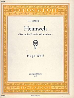 Wolf: Heimweh