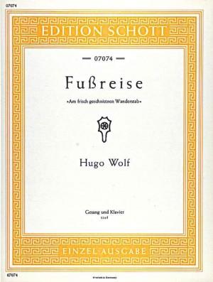 Wolf: Fußreise