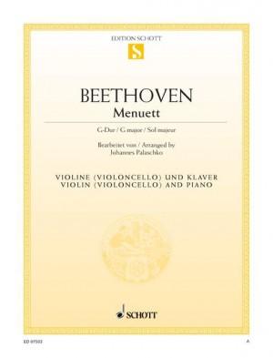 Beethoven, L v: Minuet G major WoO 10/2