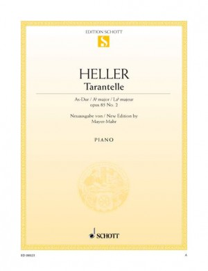 Heller, S: Tarantella A-flat major op. 85/2