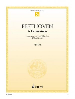 Beethoven, L v: Six Ecossaises E-flat major WoO 83