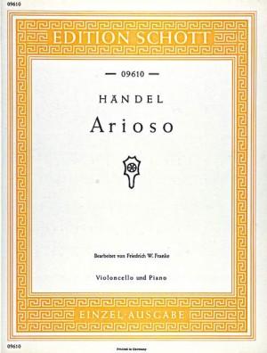 Handel, G F: Arioso