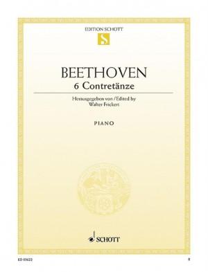 Beethoven, L v: Six Contredanses WoO 14
