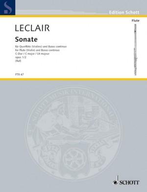 Leclair, J: Sonata C major op. 1/2