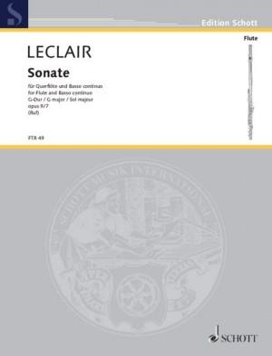 Leclair, J: Sonata in G major op. 9/7