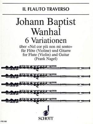 Vanhal, J K: 6 Variations op. 42