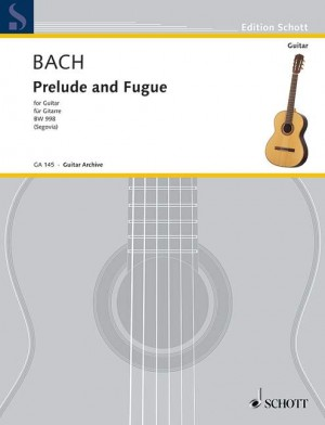 Bach, J S: Prelude and Fugue D major BWV 998