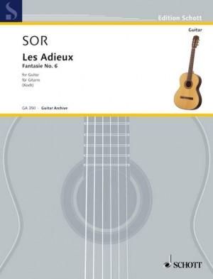 Sor, F: Les Adieux op. 21