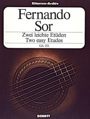 Sor, F: 2 easy Etudes aus op. 31 und op. 35