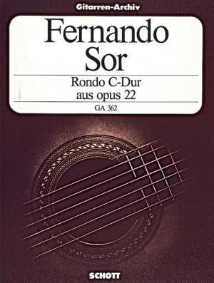 Sor, F: Rondo C major aus op. 22