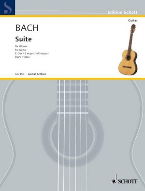 Bach, J S: Suite for Lute E major BWV 1006a