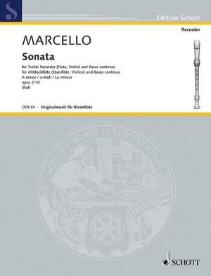 Marcello, B: Two Sonatas op. 2