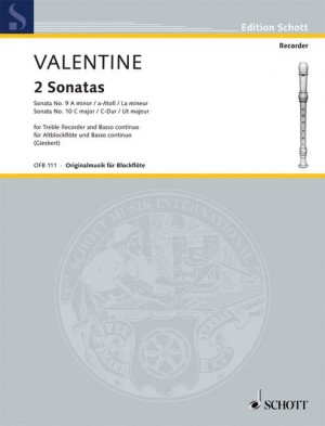 Valentine, R: 2 Sonatas
