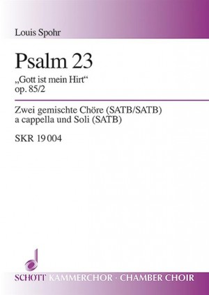 Spohr, L: Drei Psalmen op. 85