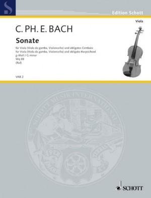 Bach, C P E: Sonata G Minor Wq88