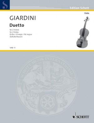Giardini, F d: Duetto D Major Product Image