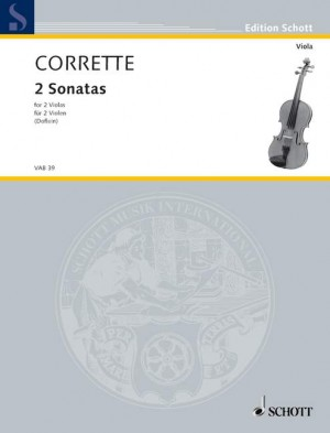 Corrette, M: Two Sonatas and a Minuet Product Image