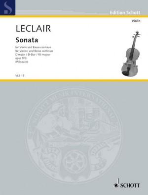 Leclair, J: Sonata D Major op. 9/3