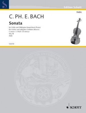 Bach, C P E: Sonata C Minor
