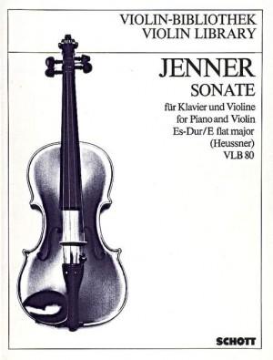 Jenner, C U G: Sonata in Eb Major