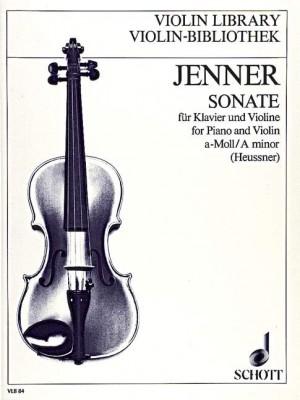 Jenner, C U G: Sonata in A Minor
