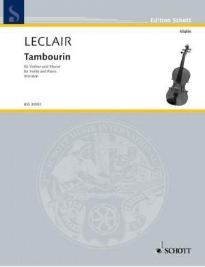Leclair, J: Tambourin