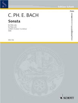Bach, C P E: Sonata A Minor Wq 132