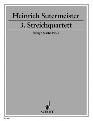 Sutermeister, H: String Quartet No. 3